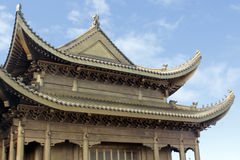 Traditional Chinese palace architecture Royalty Free Stock Photo