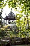 Traditional Chinese pavilion, Suzhou, China Stock Image