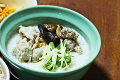 Traditional chinese porridge rice gruel Stock Photography
