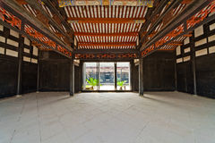 Traditional Chinese reception hall Royalty Free Stock Photography
