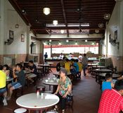 Traditional Chinese restaurant in Penang Island Stock Photos