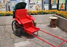 Traditional Chinese Rickshaw Royalty Free Stock Photography