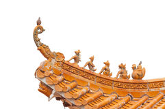 Traditional Chinese Roof Royalty Free Stock Photo