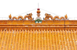Traditional Chinese Roof Stock Image