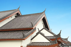 Traditional Chinese Roof Royalty Free Stock Photos