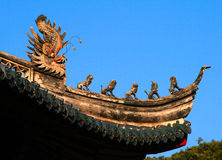Traditional Chinese roof Royalty Free Stock Images