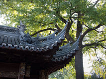 Traditional chinese roof Stock Photo