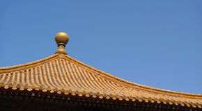 Traditional chinese roof top detail Royalty Free Stock Images