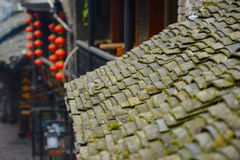 Traditional chinese roof tops Royalty Free Stock Image