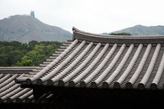Traditional Chinese rooftop Royalty Free Stock Photo