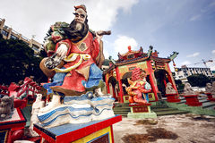 Traditional Chinese sculptures Royalty Free Stock Photography