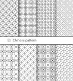 Traditional Chinese seamless pattern for your design.  Vector. Background Royalty Free Stock Photography