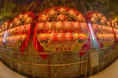 Traditional Chinese seasonal board Royalty Free Stock Photo