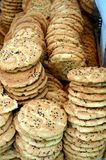 Traditional Chinese sesame biscuit Royalty Free Stock Image