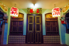 Traditional Chinese Shop House Royalty Free Stock Photos