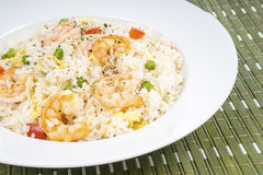 Traditional Chinese Shrimp Fried Rice Dish #1 Stock Images