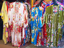 Traditional chinese silk Royalty Free Stock Photo