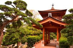 Traditional Chinese Structure. A traditional Chinese structure in Nan Lian Garden, Diamond Hill, Hong Kong Stock Photo