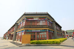 Traditional Chinese style antique buildings Royalty Free Stock Photography