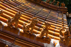 Traditional Chinese style eaves Royalty Free Stock Photos