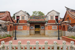 Traditional chinese-style house in Taiwan Royalty Free Stock Image