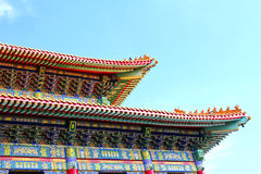 Traditional Chinese style temple Royalty Free Stock Photography