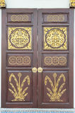 Traditional Chinese style wooden door Royalty Free Stock Image