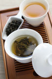 Traditional chinese tea ceremony Royalty Free Stock Photo