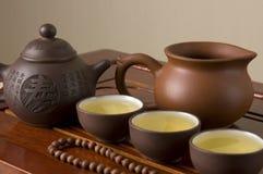 Tea ceremony. Traditional Chinese tea ceremony set Royalty Free Stock Photography