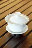traditional Chinese tea cup Royalty Free Stock Image