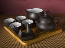 Traditional Chinese tea drinking Kit Stock Photography