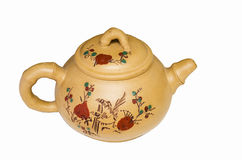 Traditional Chinese tea pot Royalty Free Stock Photography