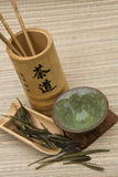 Traditional chinese tea set Stock Images