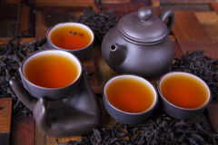 Traditional Chinese tea ware Royalty Free Stock Images