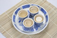 Traditional Chinese Teacup Stock Photo