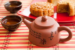 Traditional chinese teapot Stock Photography