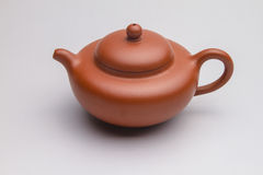 Traditional Chinese teapot close-up pictures Royalty Free Stock Images