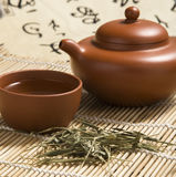 Traditional Chinese teapot close-up pictures Royalty Free Stock Image