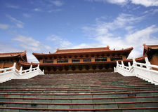 Traditional Chinese temple Royalty Free Stock Images