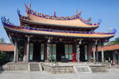 Traditional Chinese Temple. The Confucius temple in Taipei, Taiwan Stock Image
