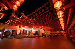 Traditional Chinese Temple Royalty Free Stock Photography