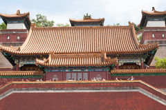Traditional Chinese temple close up Stock Images