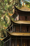 Traditional chinese temple with golden roofs (1). Traditional chinese temple with golden rooftops (1 Stock Images