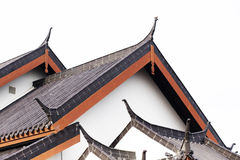 Traditional Chinese temple roof Royalty Free Stock Images
