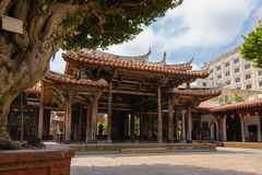 Traditional chinese temple in Taiwan Royalty Free Stock Image