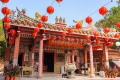 Traditional chinese temple in Taiwan Stock Photo