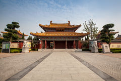 The traditional Chinese temple Royalty Free Stock Images