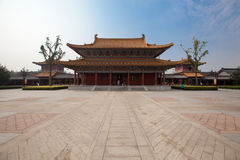 The traditional Chinese temple Stock Photography