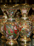 Traditional Chinese vases Royalty Free Stock Image