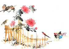 Traditional Chinese view Royalty Free Stock Images